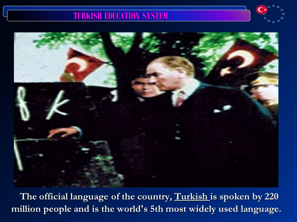 TURKISH EDUCATION SYSTEM PRIMARY EDUCATION Compulsory Education: Age of Entry : 6, Age of Exit: 14 Length of program in years : 8