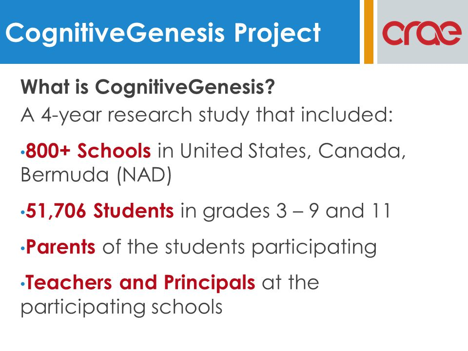 What is CognitiveGenesis.