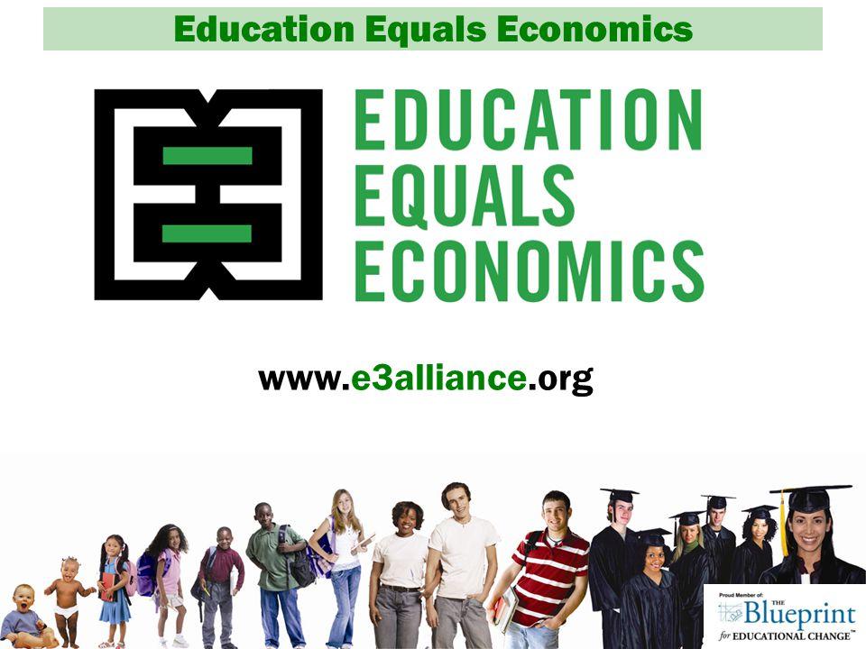 Education Equals Economics www.e3alliance.org