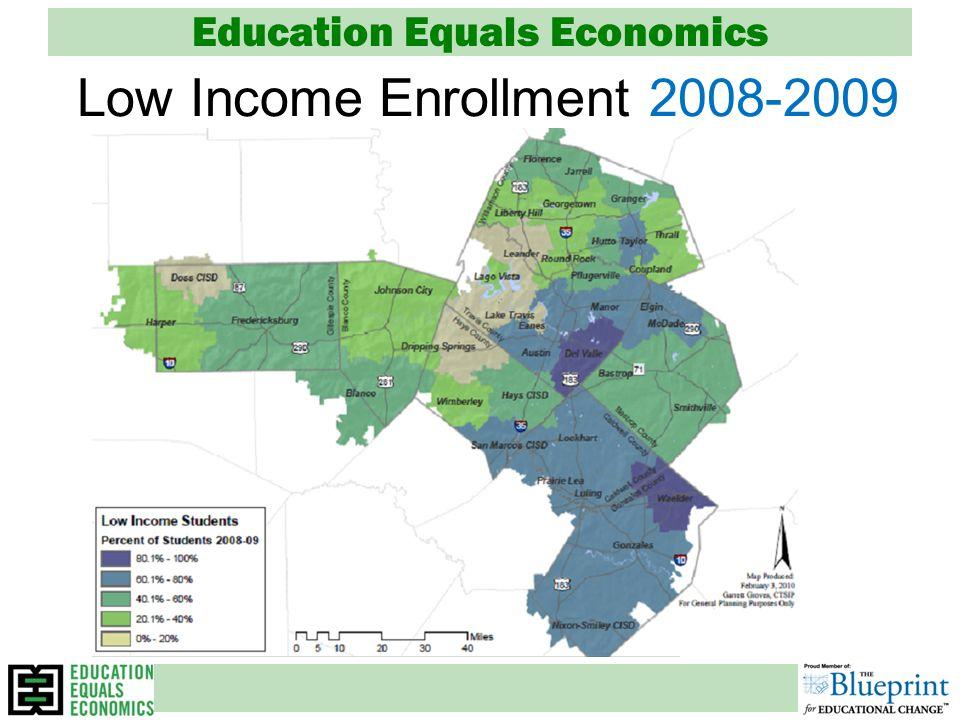 Education Equals Economics Low Income Enrollment 2008-2009