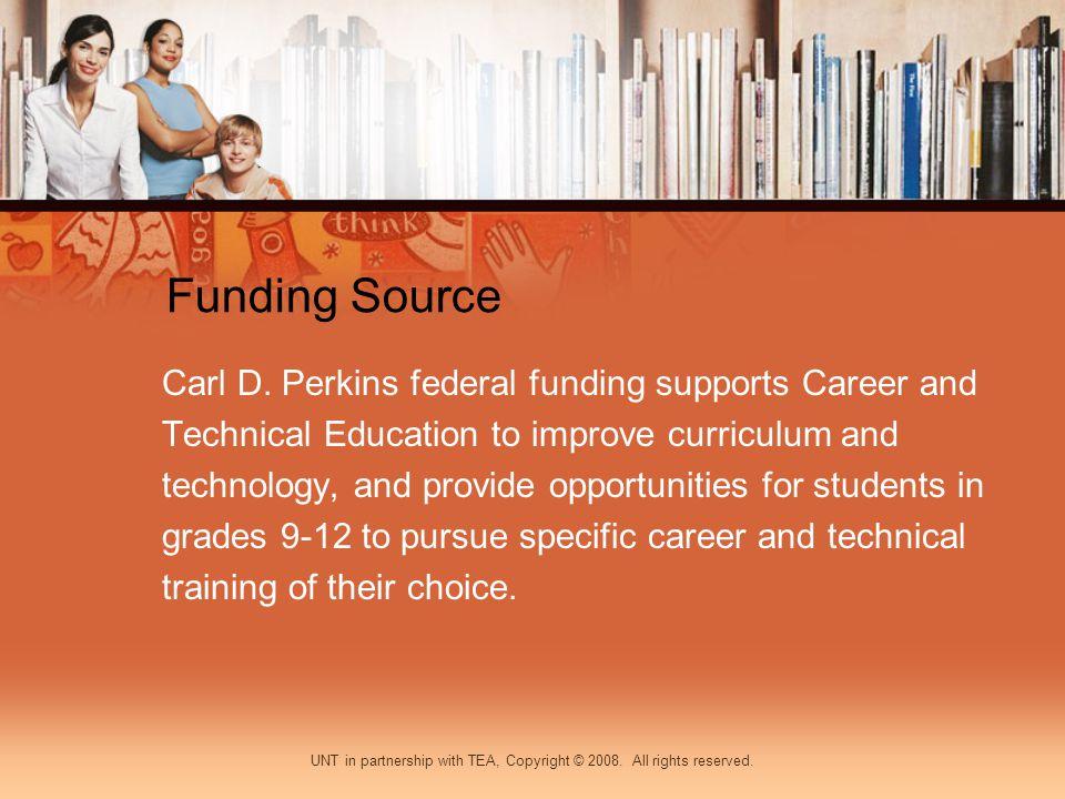 Funding Source Carl D.