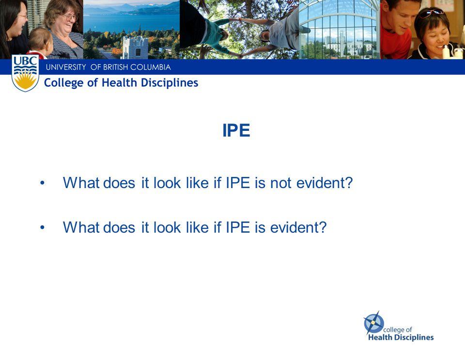 PCC IPE CP LEARNER PRACTITIONER