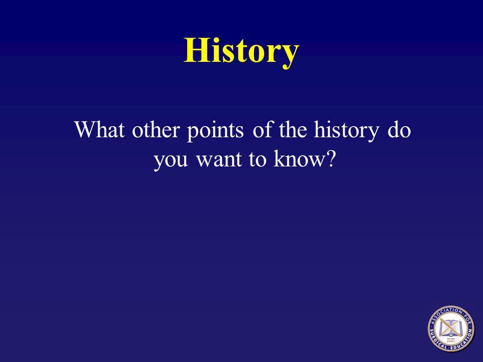 History, Ms.