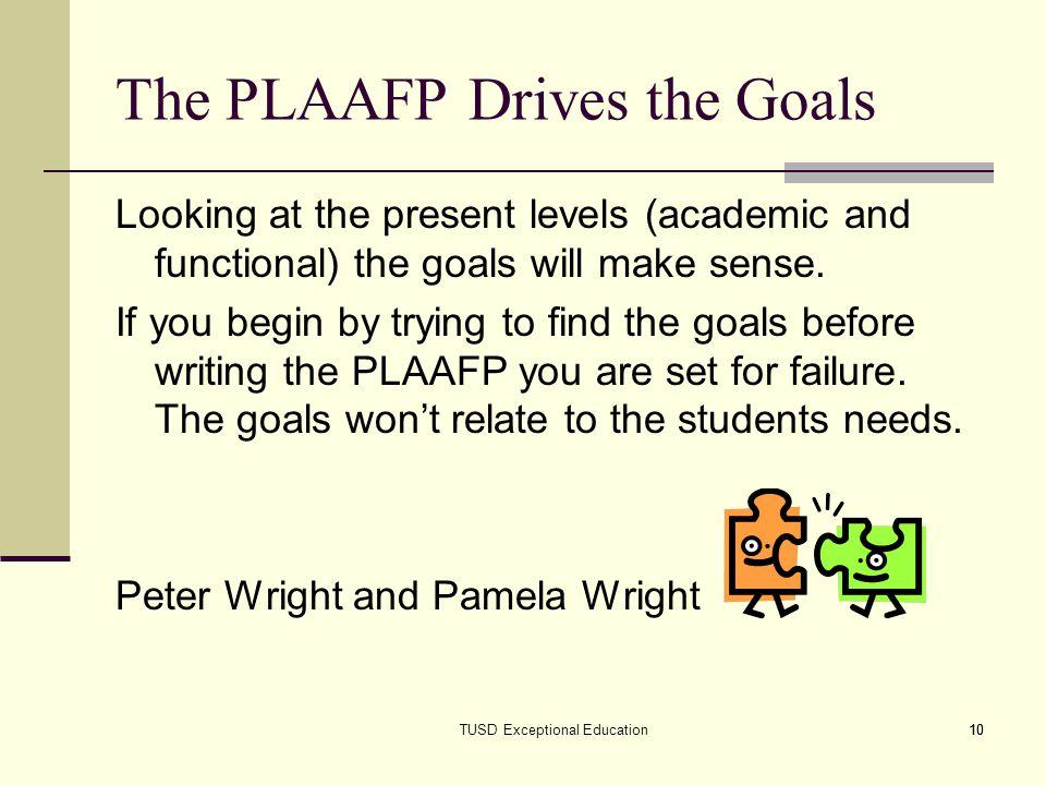 an essay on educational goals