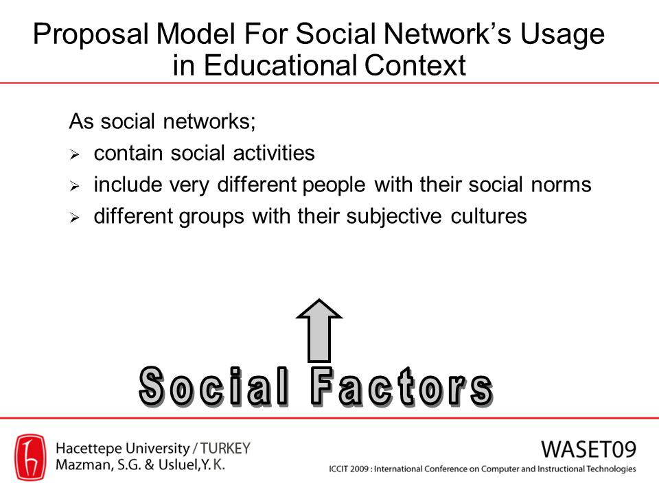 As social networks; contain social activities include very different people with their social norms different groups with their subjective cultures