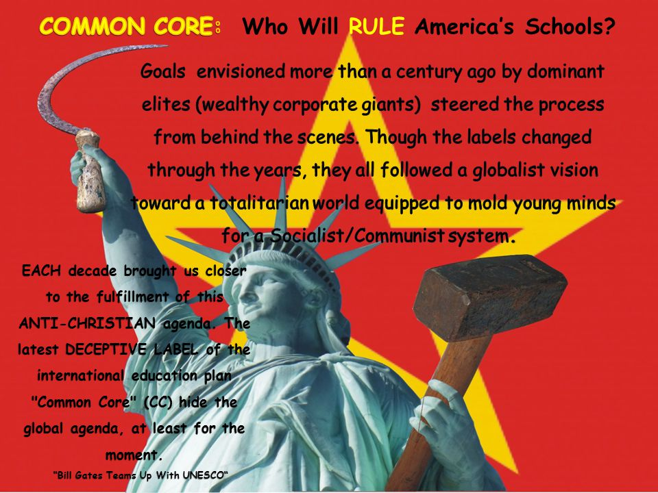 Common Core Standards Is NOT NEW!.