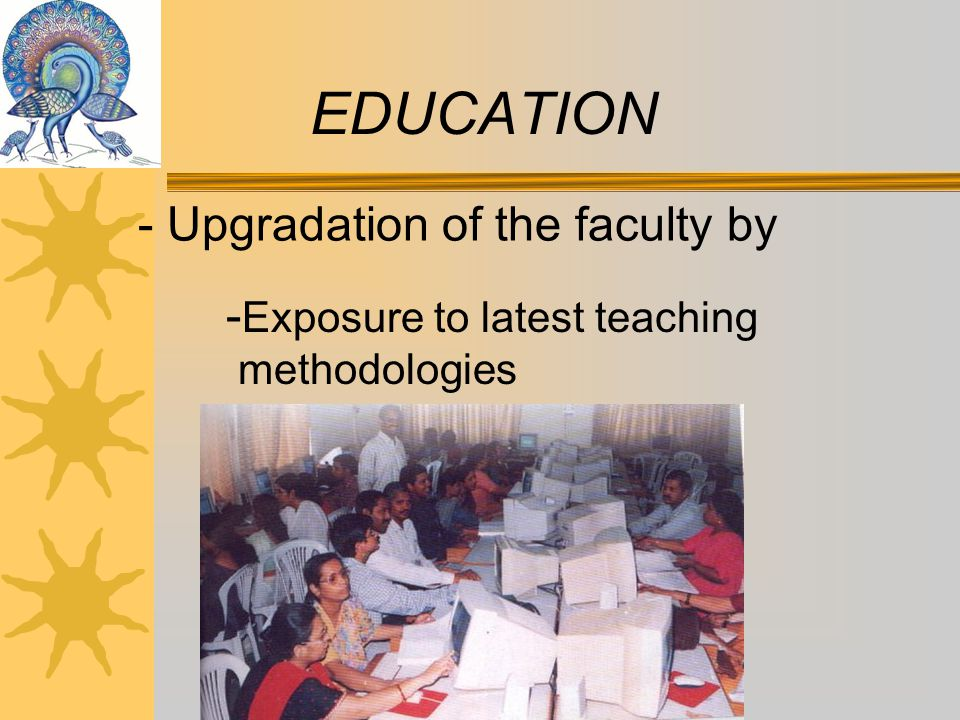 - Upgrade Pre-Primary Section EDUCATION