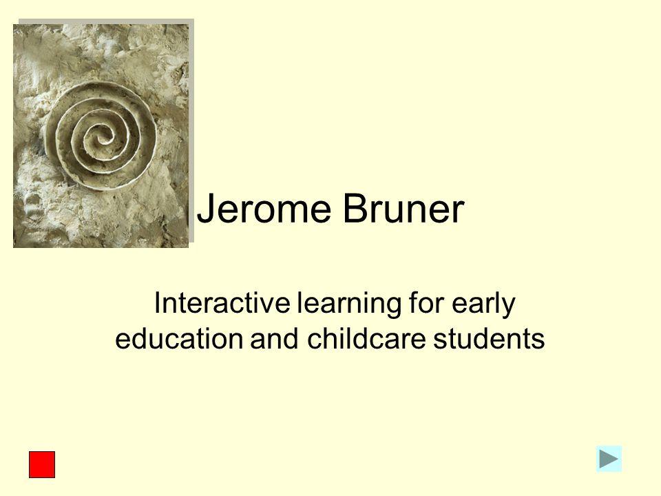 Symbolic mode Bruner explains that children use the symbolic mode to represent something.