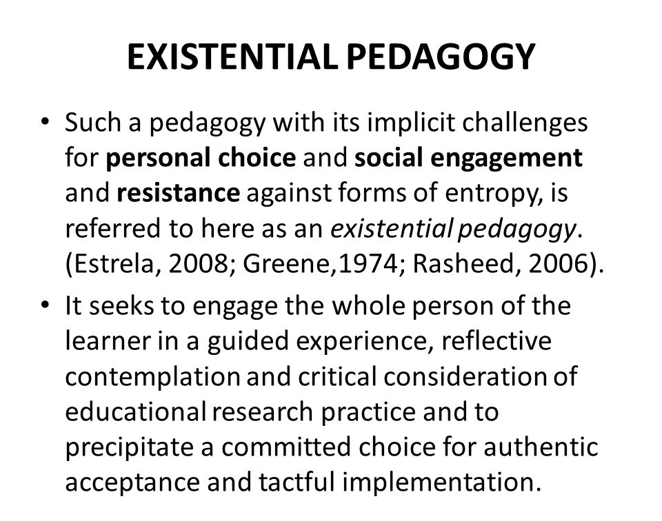 FOUR PARTS OF EXISTENTIAL INVITATIONAL PEDAGOGY IN SUPERVISION A.Supervision in HDR education B.Existential approaches C.Herons four elements in learning D.Applying existential approached to learning in HDR research