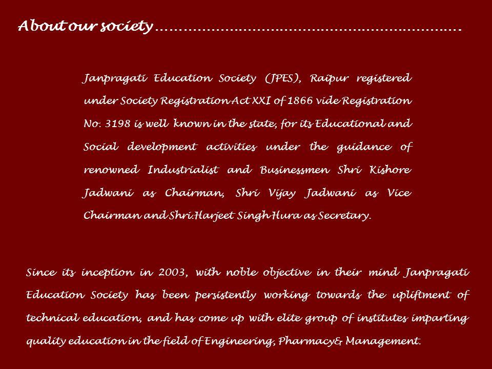 Janpragati Education Societys COLUMBIA INSTITUTE OF PHARMACY Near Vidhan Sabha, Tekari, Raipur, C.G. 493111 Website: www.columbiaiop.ac.in Approved by