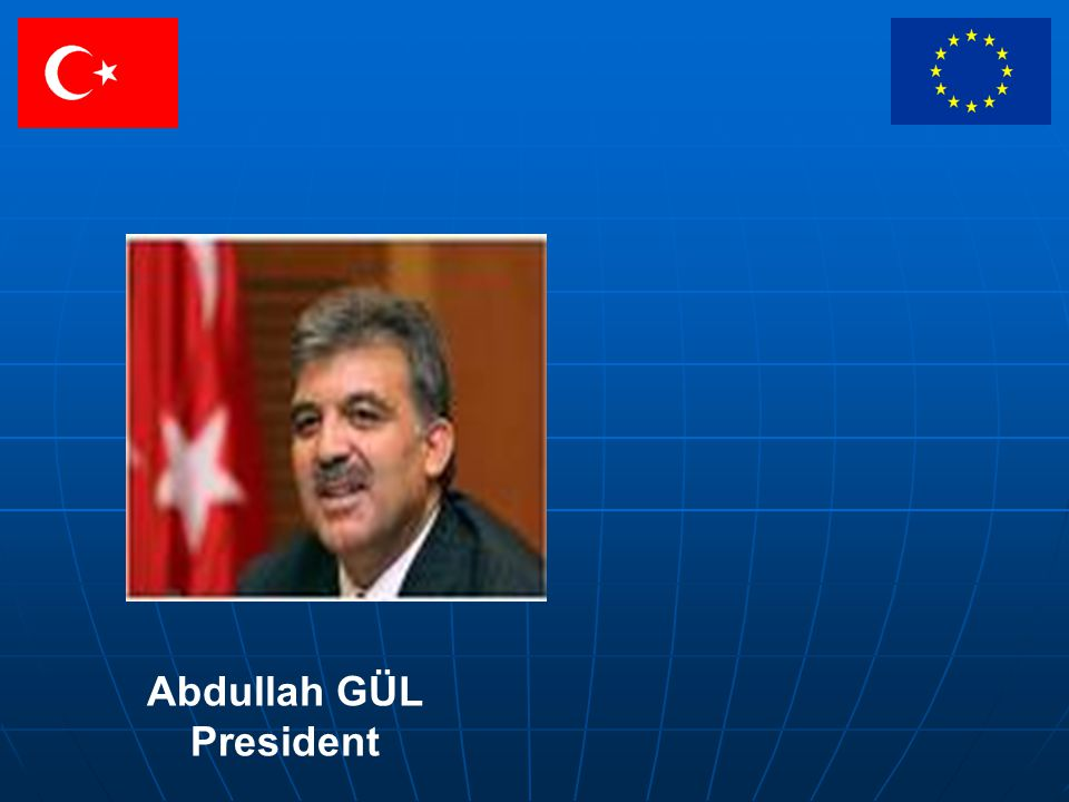 Abdullah GÜL President