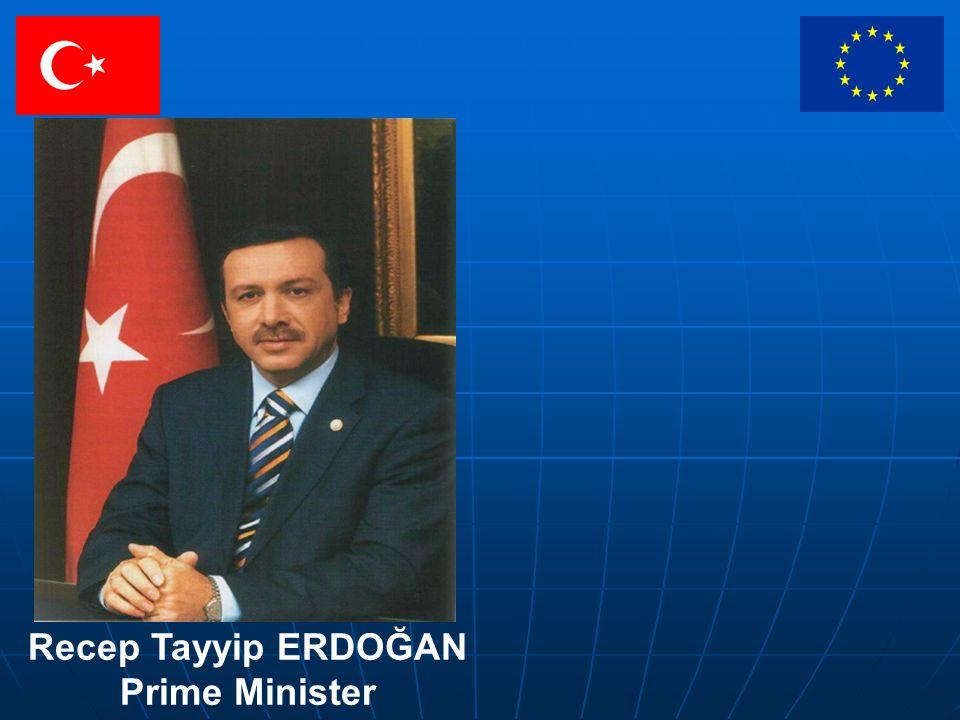 Recep Tayyip ERDOĞAN Prime Minister