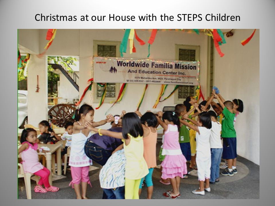 Christmas at our House with the STEPS Children