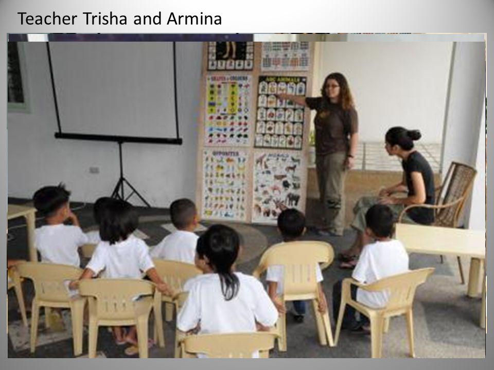 Teacher Trisha and Armina