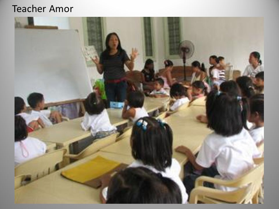 Teacher Amor