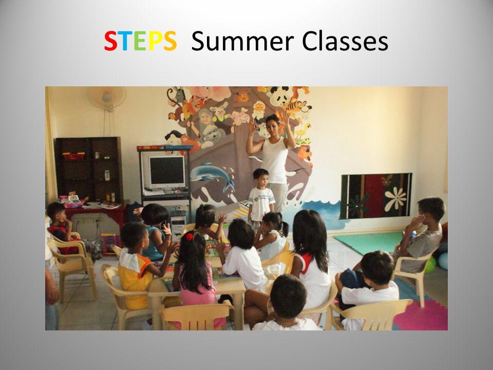 STEPS Summer Classes