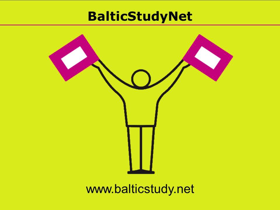 BalticStudyNet www.balticstudy.net