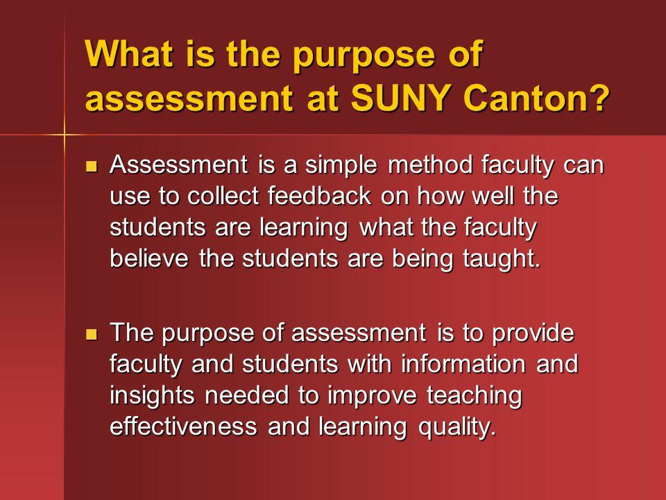 Reference Walvoord, Barbara E.Strengthening Campus-Based Assessment.
