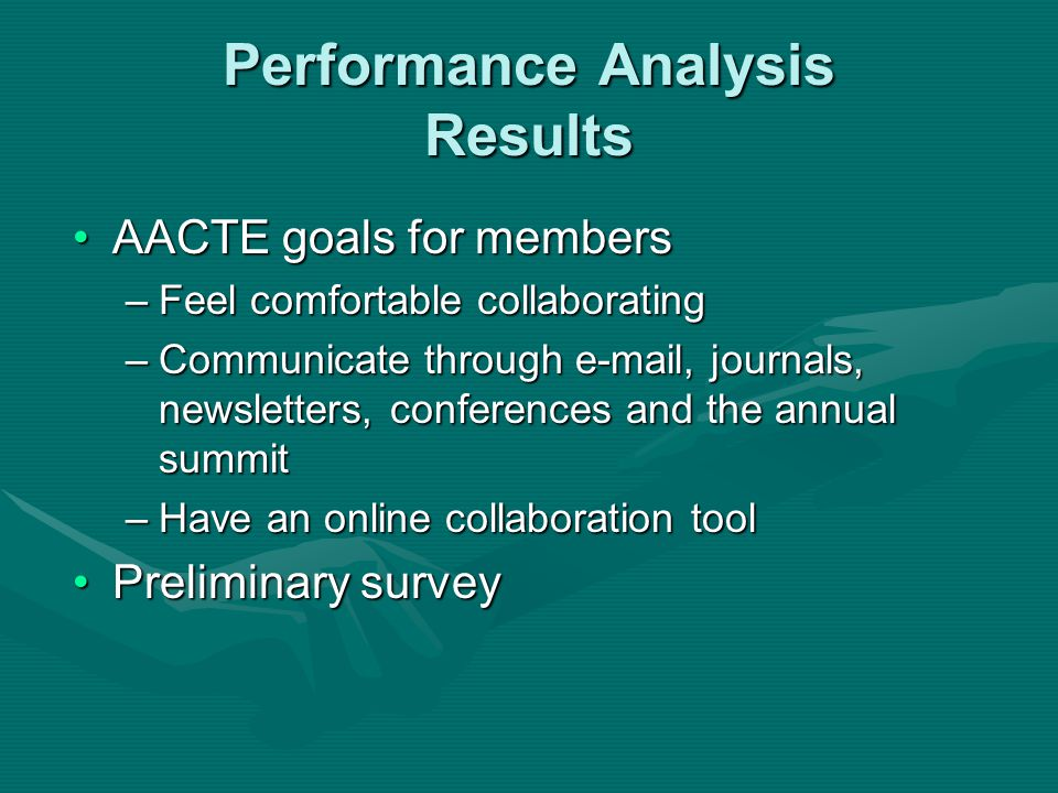Task Analysis Collaboration Task and Features Matrix