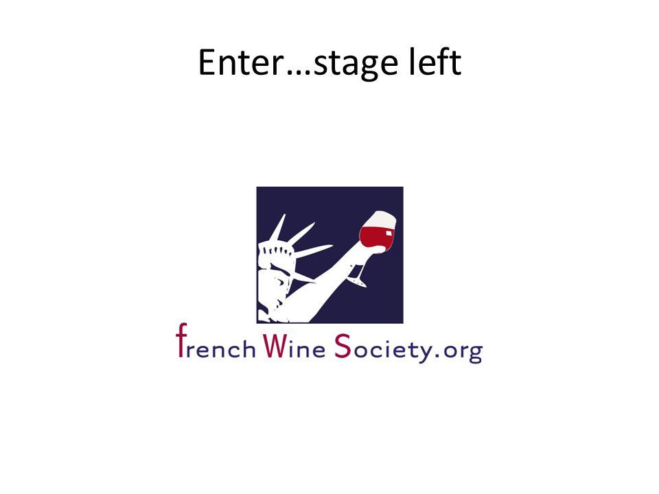 Enter…stage left