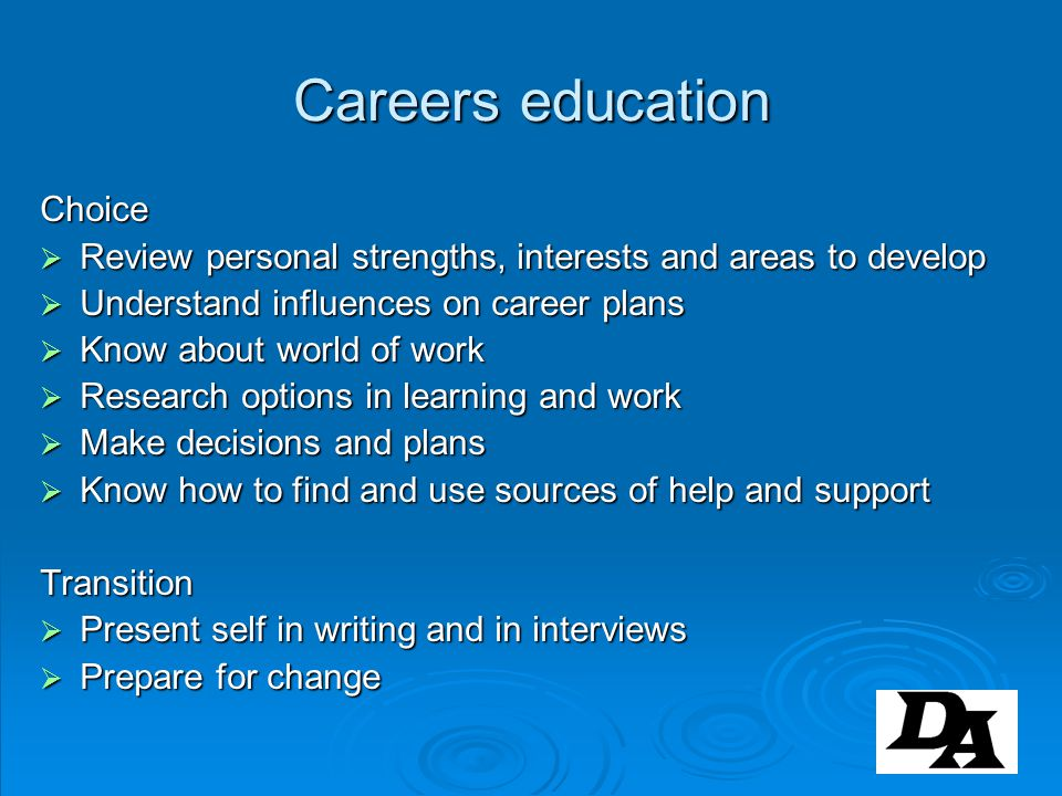 Careers Co-ordinators in Schools (DCSF 2009) NFER-NICEC research fewer than 1 in 3 CCs have a CEIAG qualification fewer than 1 in 3 CCs have a CEIAG qualification 26% of CCs are not qualified teachers; 7% are qualified careers advisers 26% of CCs are not qualified teachers; 7% are qualified careers advisers interest in a professional qualification is greater among the less experienced and the non- teachers interest in a professional qualification is greater among the less experienced and the non- teachers good tradition in Lincolnshire of making the NTU Diploma, and now University of Derby, courses available to learning providers