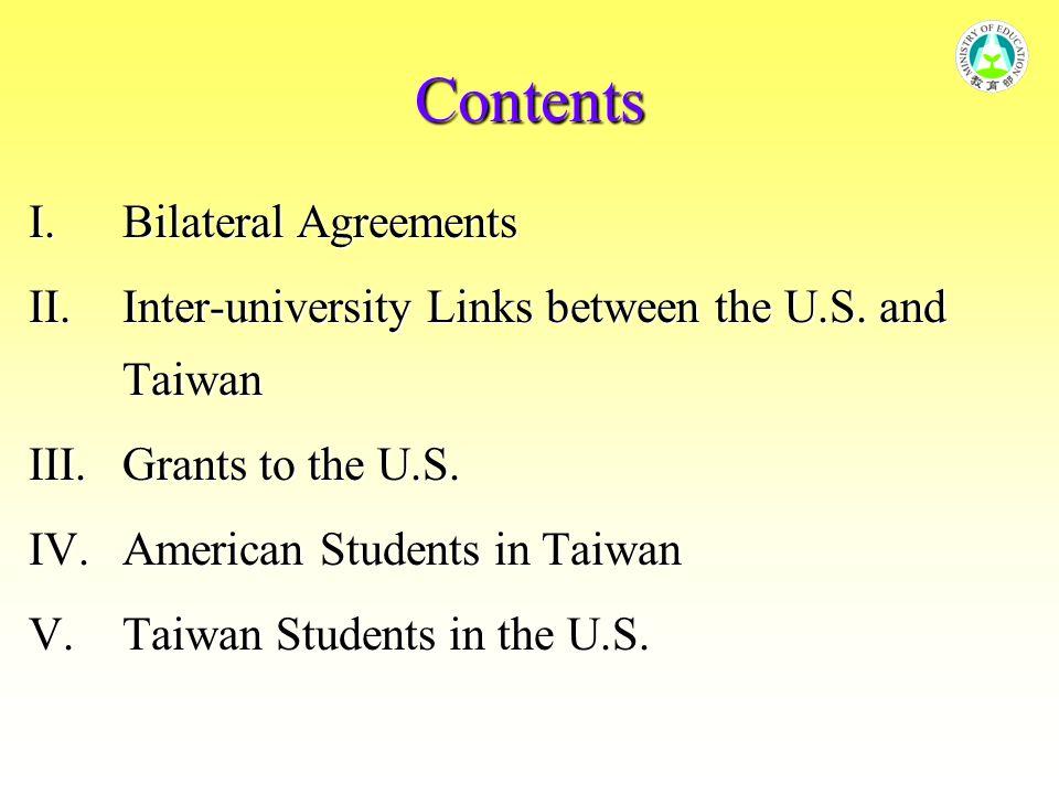 V.Taiwan Student in U.S.