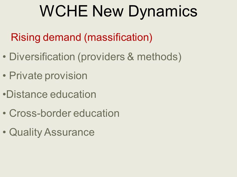 For moreinformation, the WCHE 2009 website: http://www.unesco.org/en/wche2009/ s.uvalic-trumbic@unesco.org