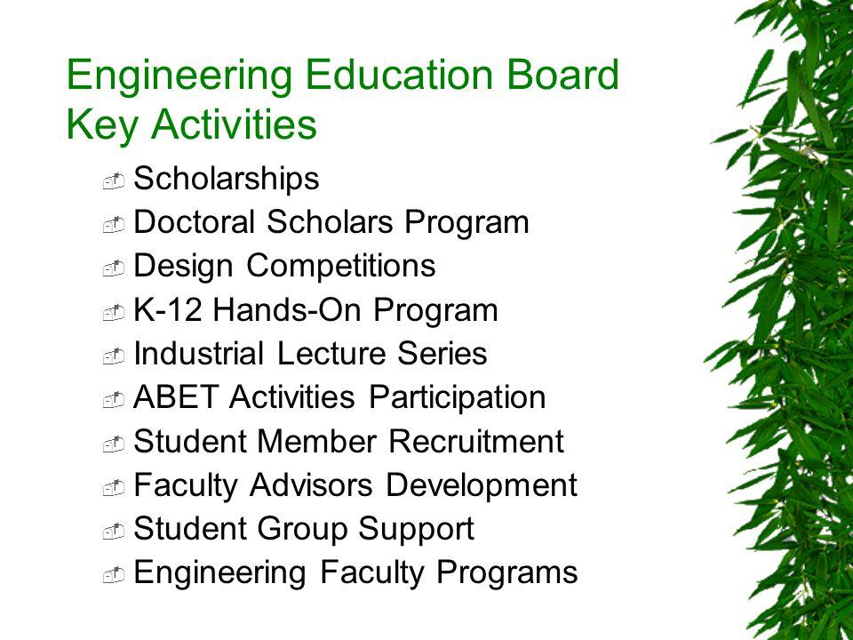 SAE Engineering Scholarship Funding