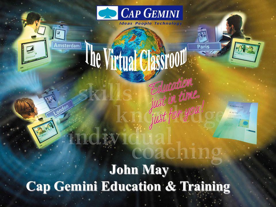 Virtual Classroom 1999 / 2 Cap Gemini Education & Training.