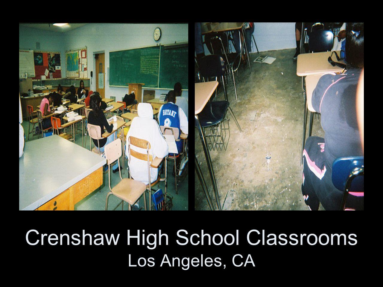 Crenshaw High School Classrooms Los Angeles, CA