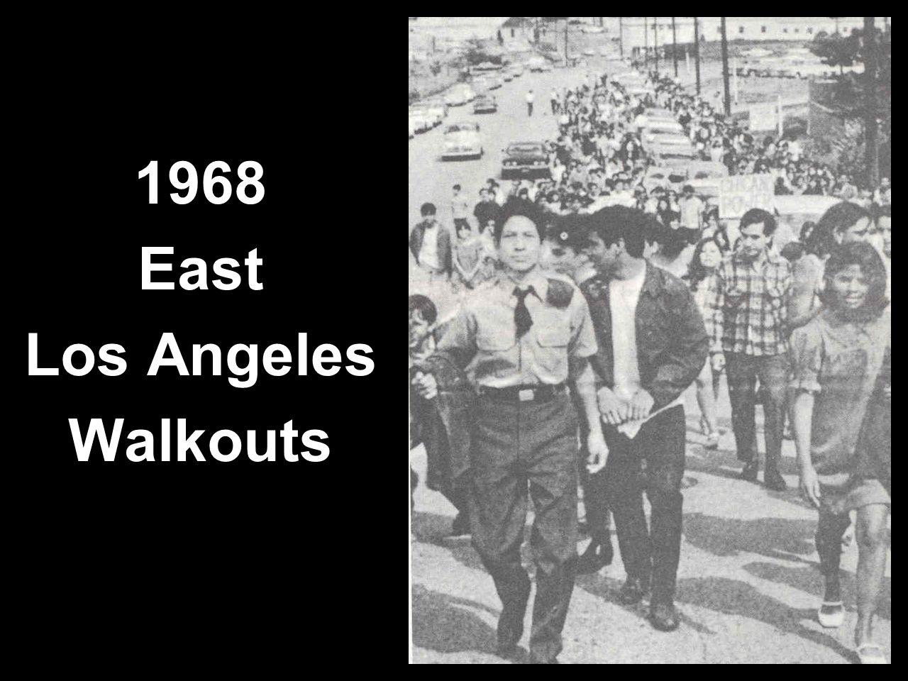1968 East Los Angeles Walkouts