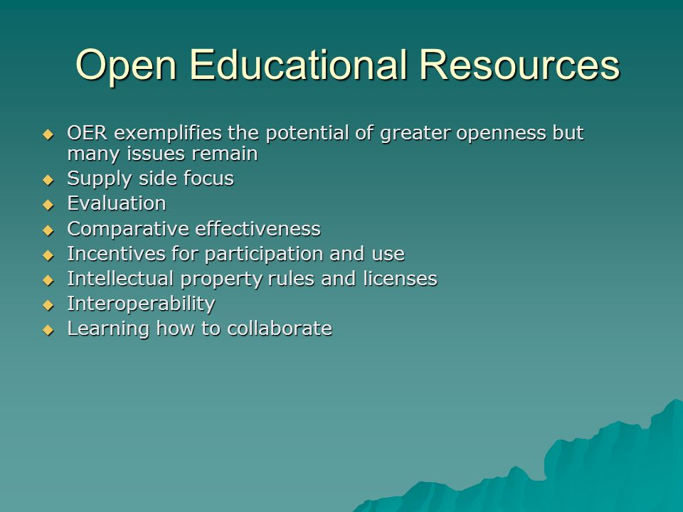 Openness in Teaching and Learning Digital materials offer new opportunities particularly for assessment and feedback benefiting students, teachers, the creators of educational materials, and learning scientists.