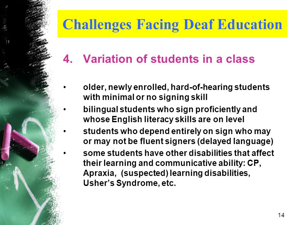 13 Remember…….. Every child is an individual who deserves to have access to consistent and fluent language models. Yeah!