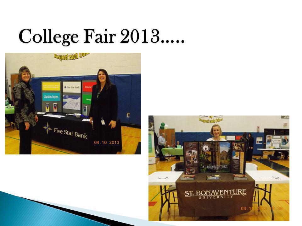 College Fair 2013…..
