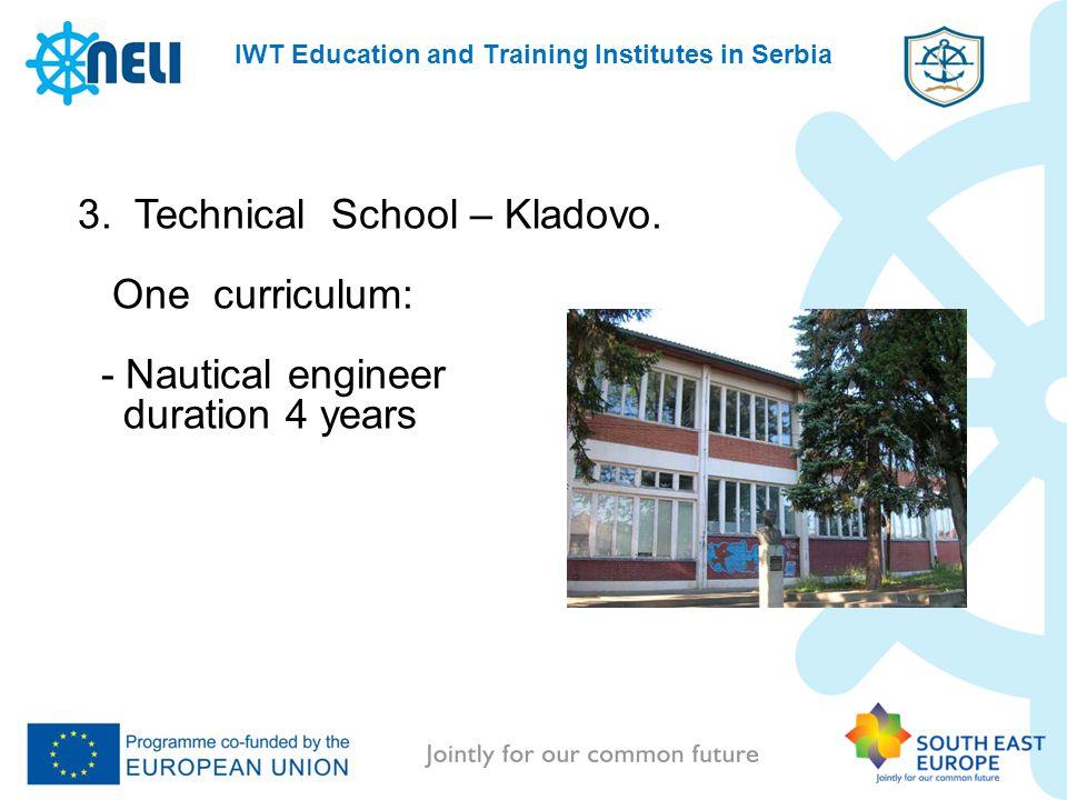 3. Technical School – Kladovo.