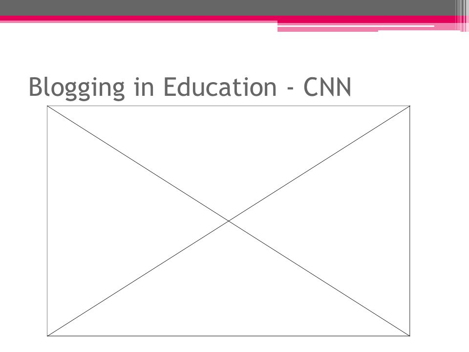 Educational Blogging http://supportblogging.com/Educational+Blogging Description: This website focuses primarily on the use of blogging as an educational tool that teachers introduce to their students, then use as a means of promoting learning.