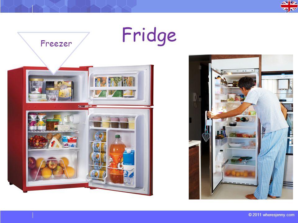 © 2011 wheresjenny.com Fridge Freezer