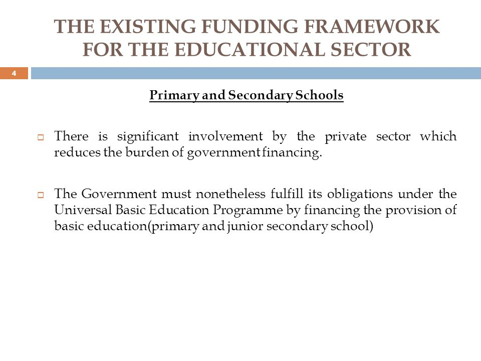 SUGGESTED FUNDING FRAMEWORK Internally Generated Revenue It has become pertinent that an increasing fraction of university funding be sourced from internally generated income.