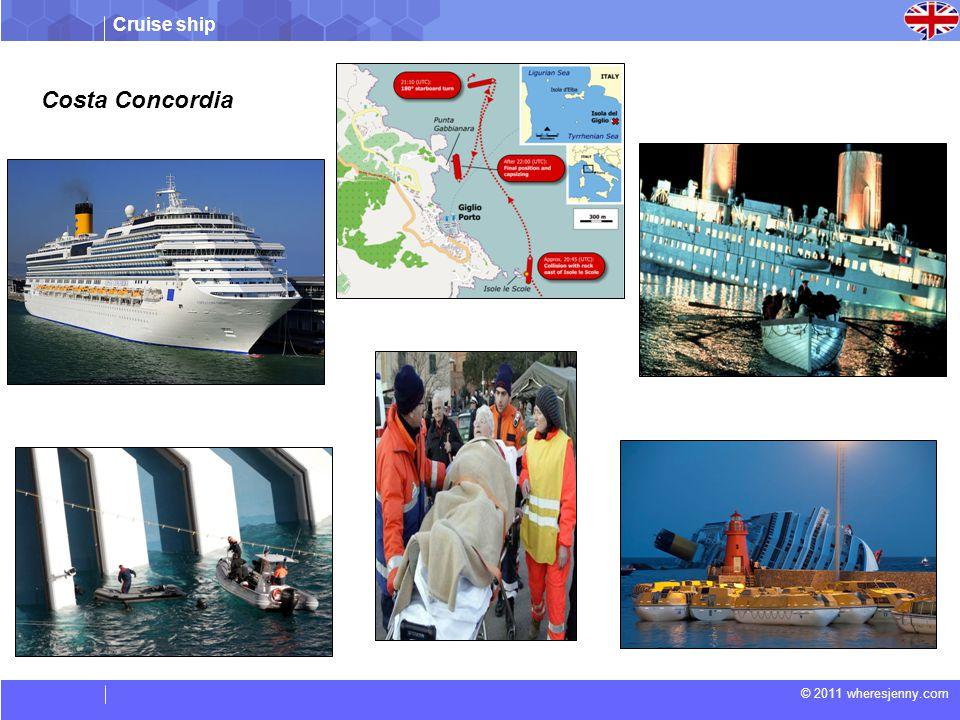 Cruise ship © 2011 wheresjenny.com Costa Concordia