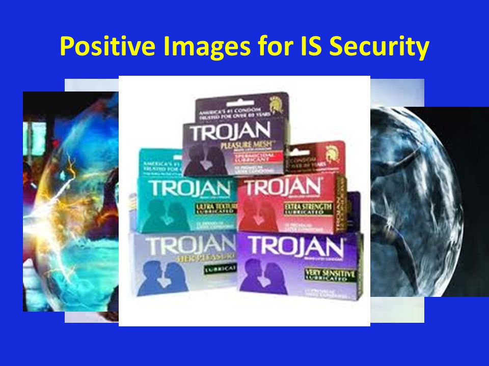 Positive Images for IS Security