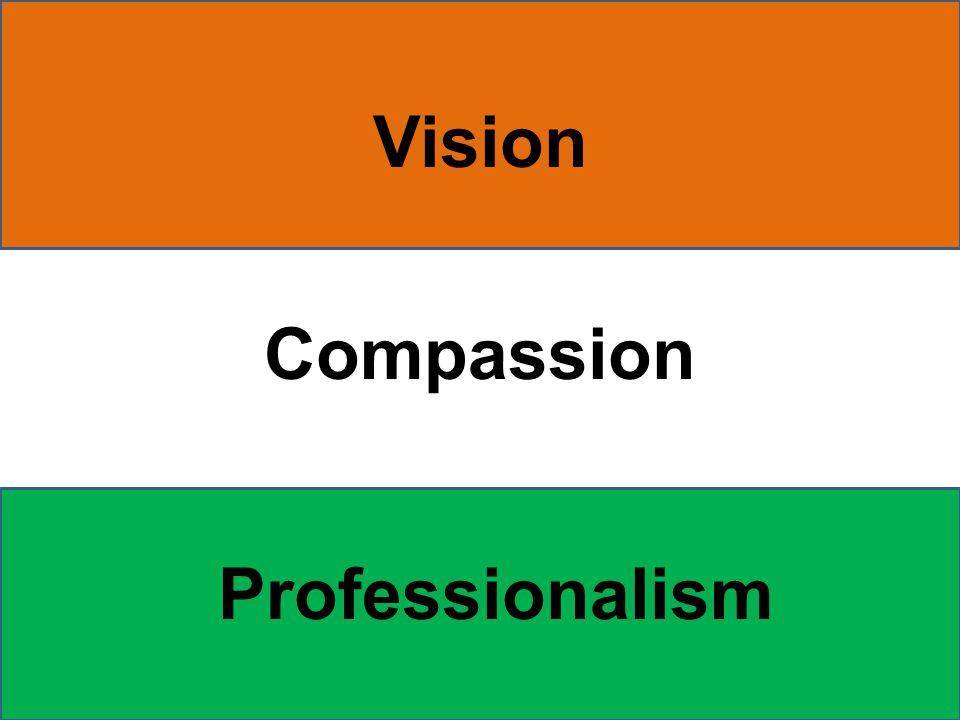 Vision Compassion Professionalism
