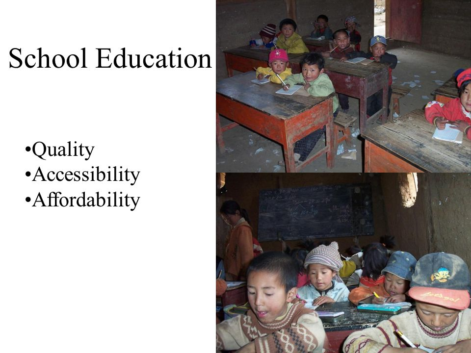 Site of an Education Fund (Since 2001) Luoshui Village