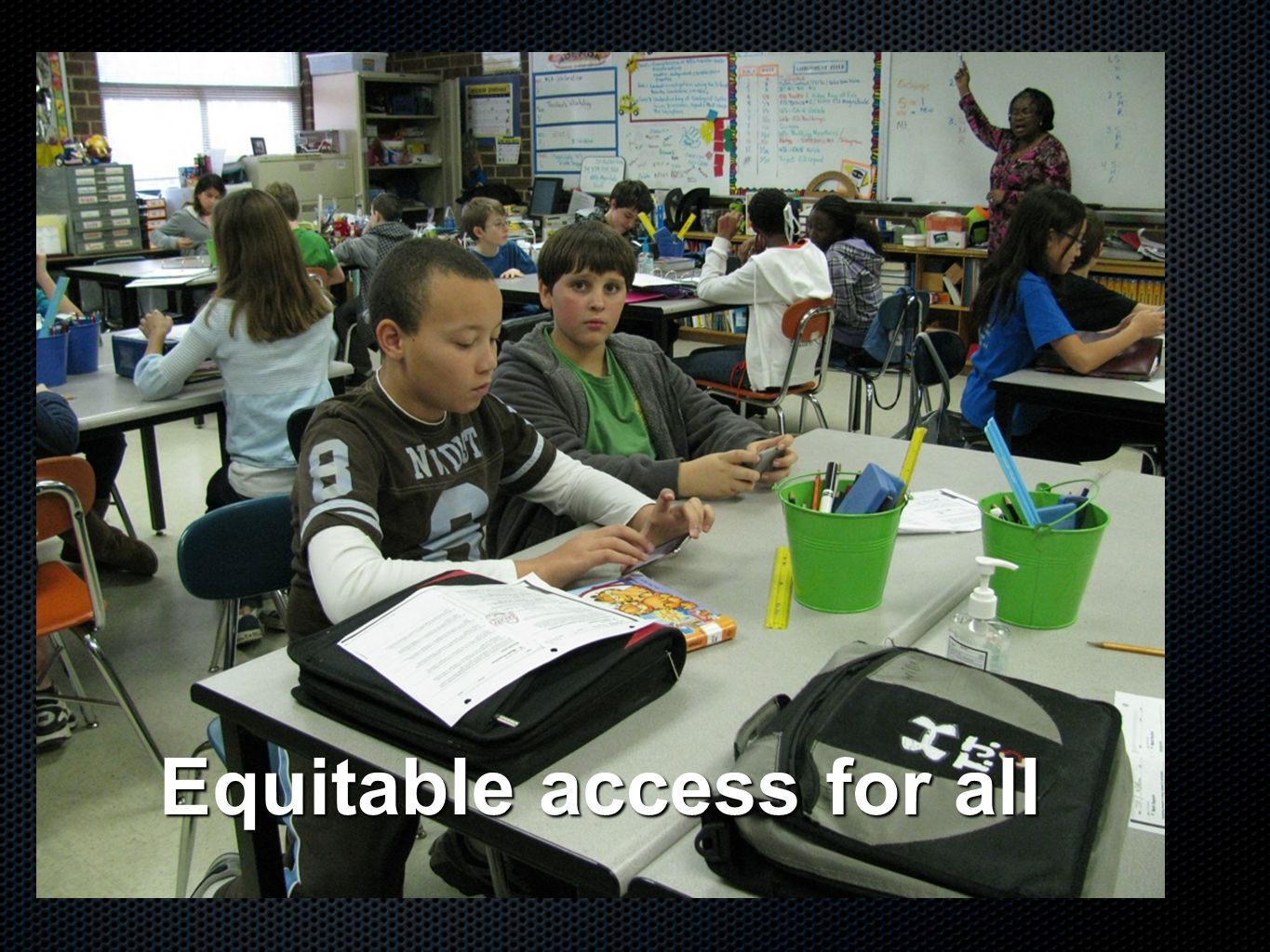 Equitable access for all