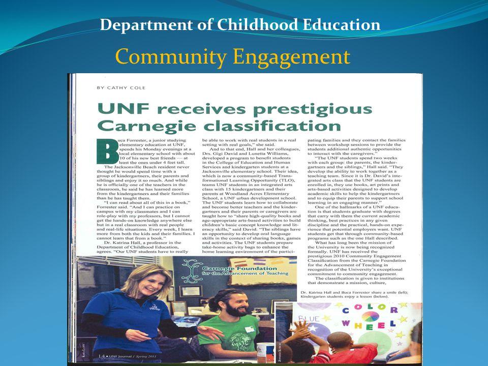Department of Childhood Education Community Engagement