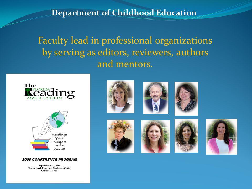Department of Childhood Education Dr. Jacqueline Batey facilitates international study.