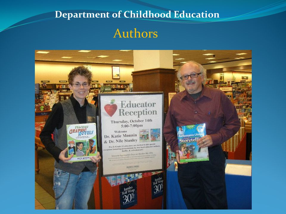 Department of Childhood Education Authors