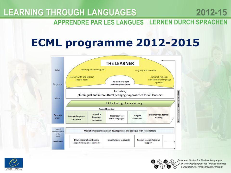 ECML programme 2012-2015