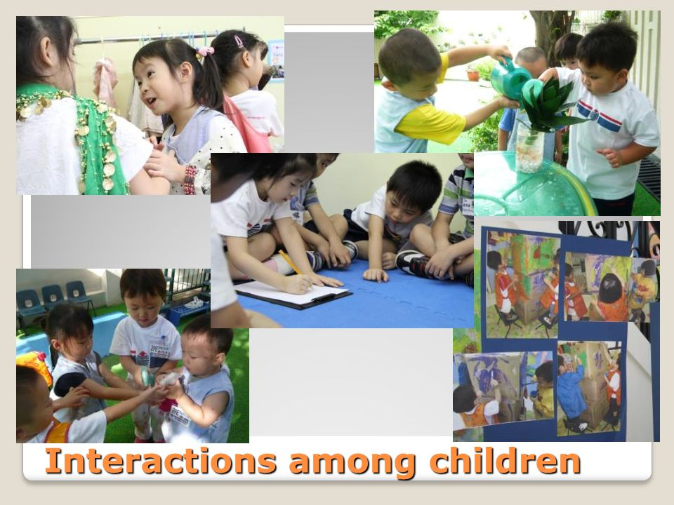 Interactions among children