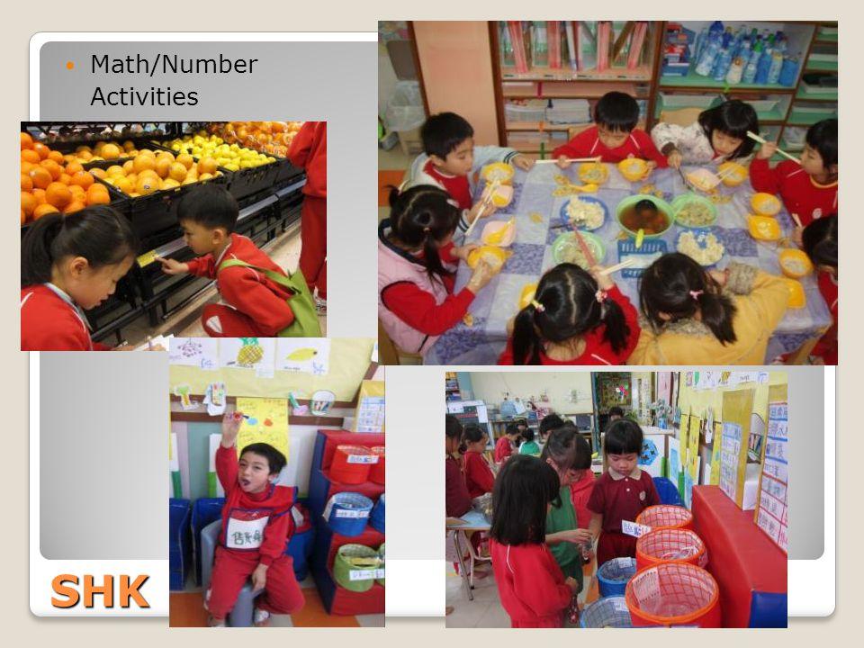 SHK Math/Number Activities