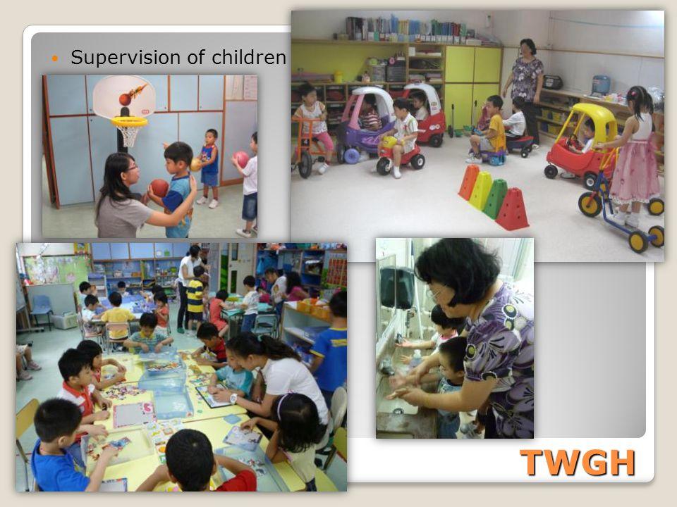 TWGH Supervision of children
